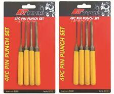 2 x sets PIN PUNCH SET 4Pc prokit NEW