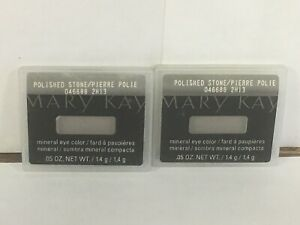 MARY KAY Mineral Eye Color Polished StoneLot of 2 ~ NEW
