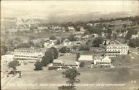 Jefferson NH Birdseye View Waumbek Hotel Real Photo Postcard
