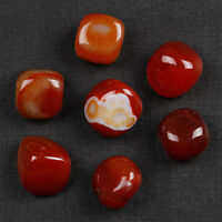 Carnelian Tumbled Stone Agate Crystal Sold By 7Pcs With One Pouch TS0002