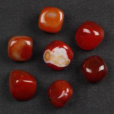 Natural Carnelian Tumbled Stone Agate Gemstones Reiki Crystal Sold 7Pcs TS0002