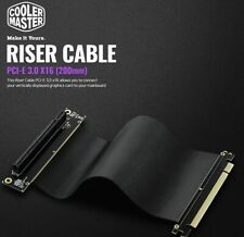 COOLER MASTER  PCI-E 3.0 X 16(200mm) RISER CABLE,Graphics Card Extension Cable