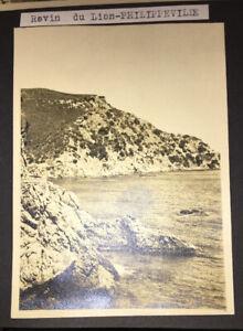 PHILIPPEVILLE (ALGÈRIE). SEPT PHOTOGRAPHIES VERS 1950.