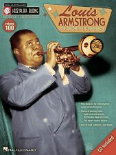Louis Armstrong Jazz Play Along Book and CD NEW 000740423