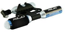 XLC PU-M03 Inflador/Bomba CO2 Bici con 3 Cartuchos 16g