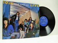 10CC live and let live DOUBLE LP EX/EX, 6641 698 vinyl album, gatefold, uk, 1977