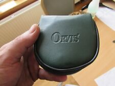 orvis battenkill cfo clam shell padded trout fly fishing reel case pouch to 7/8