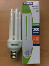 20w 88w watt ES E27 Screw In Energy Saver Stick CFL Bulb Lamp Warm White x 10