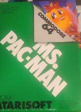 Ms. Pac-Man (Atarisoft 1983) C64 Commodore 64 Modul (Modul, Manual, Box) NEU
