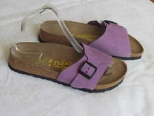 NEW Papillio Catalina Ladies Lilac Purple Suede Mules Sandals UK Size 5 EU 38