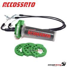 acelerador rápido Accossato verde cables+perillas incluido YAMAHA R6 06>07 *699