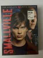 Smallville - The Complete Fifth Season (DVD, 2006, 6-Disc Set) - New