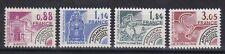 France année 1981 timbre préoblitéré  Monuments N°170** au N° 173** réf 6465