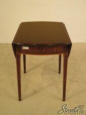 23483E: KITTINGER Drop Leaf CW-27 Colonial Williamsburg Pembroke Table