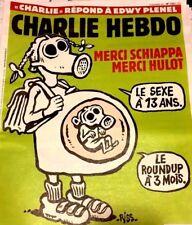 CHARLIE HEBDO 15/11/2017*n°1321**CHARLIE PAPERS*VATICAN & ARGENTINE*TRUMP*CLIMAT
