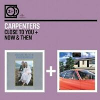 "THE CARPENTERS ""CLOSE TO YOU/NOW & THEN"" 2 CD NEW+"