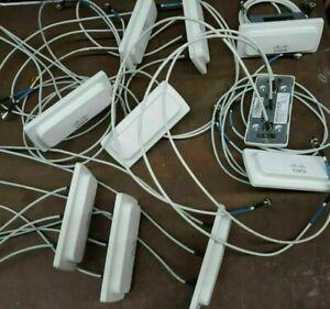 Lot of 10 CISCO AIR-ANT5140V-R Omni Antennas 5GHz 4.0dBi w/RP-TNC