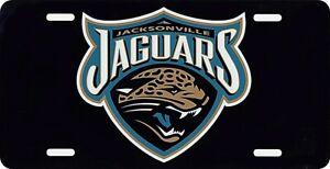 Jacksonville Jaguars Team Logo License Plate