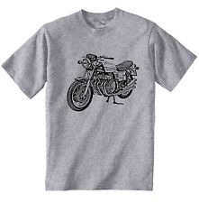 BENELLI 750 SEI INSPIRED - NEW COTTON GREY TSHIRT - ALL SIZES IN STOCK