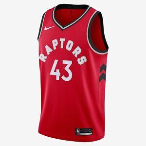 NIKE NBA Toronto Raptors Swingman 2019 Icon Jersey Pascal SIAKAM 43 Mens 3XL