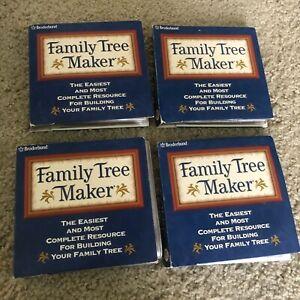 Broderbund Family Tree Maker Version 8  Volumes II, III & IV - & Most of Vol 1