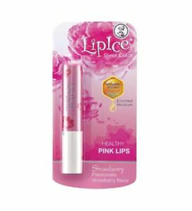 LipIce Lip Balm Sheer Color Strawberry 2.4g