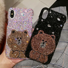 Bling Bear phone case Crystal Customize cover For Various Phone Case
