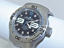 Man's Fashion VOSTOK Russian military Amphibian diver 200m. auto watch. 160559.