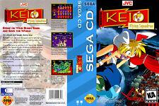 Keio Flying Squadron - Sega CD Reproduction Art DVD Case No Game