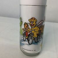 Vintage Kermit Frog McDonalds Glass The Great Muppet Caper Muppets 1981 Henson
