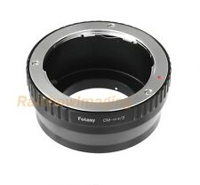 Olympus OM lens to Micro M4/3 Adapter Olympus OM-D E-M1 E-M5 E-M10 Mark II PEN-F