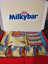 Personalised Milky Bar Chocolate Sweet Gift Box Chocolate Hamper Fathers Day