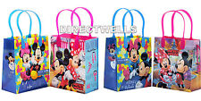 Mickey and Minnie Authentic Licensed Reusable Small Party Favor Goodie 12 Bags