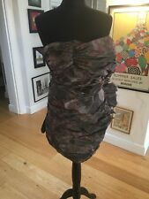 All Saints Orchid Daitya Party Ball Dress Size 12