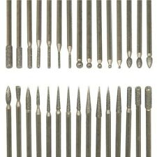 30pcs Nails Art Electric Files Drill Bits Replacement Kit Salon Tool Set + Box