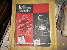 REVUE TECHNIQUE AUTO RTA N° 235 1965 DAF 600 DAFFODIL VARIOMATIC SALON PARIS 65
