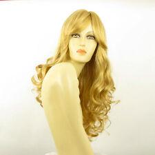 Perruque femme longue blond clair doré ZARA LG26