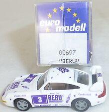 PORSCHE 911 993 BERU 1996 IMU EUROMODELL 00697 H0 1:87 RARO HO 2 Å