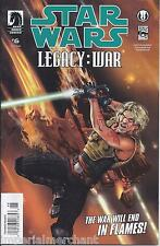 Star Wars Comic issue 6 Legacy War Modern Age First Print 2011 Ostrander Parsons