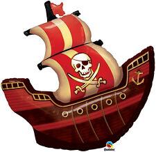"""Pirate fête d'anniversaire décoration 40"""" géant bateau pirate ballons foil balloon"""