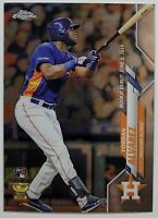 2020 Topps Update Chrome YORDAN ALVAREZ RC Rookie Debut #U-53 Astros