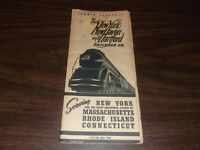 MAY 1944 NH NEW HAVEN NYNH&H PUBLIC TIMETABLE FORM 200