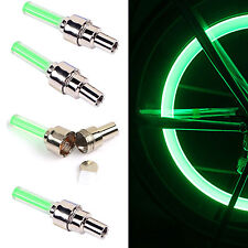 NEW 4pack Led Flash Tire Wheel Valve Cap Light For Bike Car Motorcycle Bicycle
