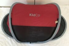 Kidco Peapod Cranberry Red Infant Travel Bed Tent Euc Baby Kid Toddler #P3010