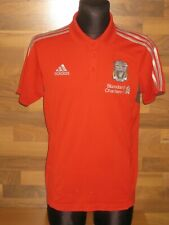 2010-11 Liverpool Polo T-Shirt Adidas (L) Jersey Trikot Camiseta Maglia Maillot