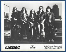Scorpions Vintage Publicity/Press Photo Motley Crue Ozzy Osbourne