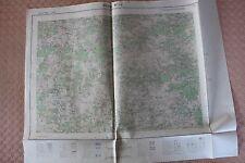 Carte de France 1/25000 Privas n° 1-2. Institut Géographique National. 1957