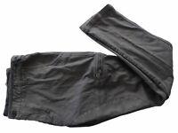 Pantalone Lungo Aeronautica militare Pant uomo man 6 tasche grigio grey XL 963CT