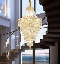 Large Chandelier living room Pendant Light LED dimmable crystal Ceiling lamp