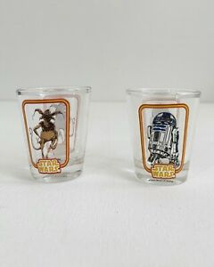 "Funko Star Wars R2-D2 & Salacious B. Crumb ""Toothpick Holders"" / Shot Glass 2Pcs"